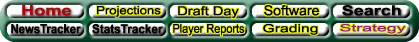 Fantasy Baseball 'Y2K menu bar
